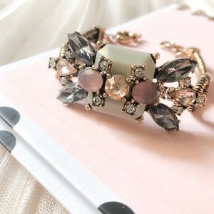 Jewelry - NWT Gray and Pink Bracelet